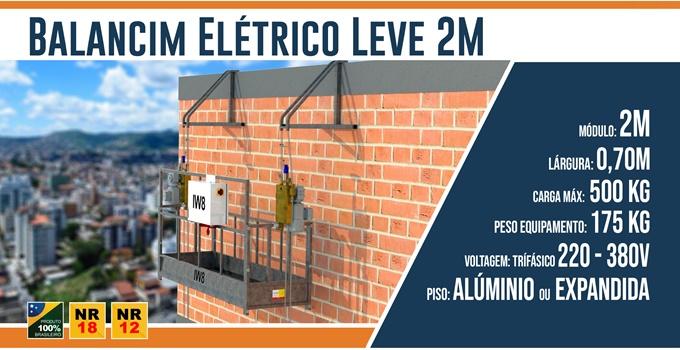 Balancim Eletrico Leve 2 Metros