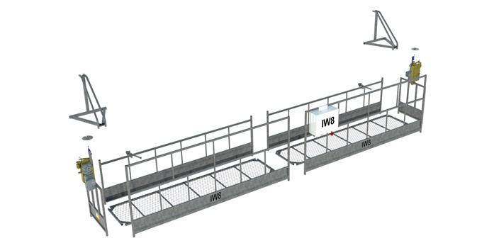 Andaime Balancim Elétrico Leve 6 Metros