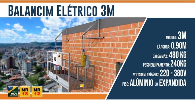 Balancim Elétrico 3 Metros