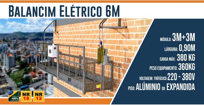 Balancim Elétrico 6 Metros