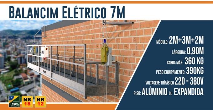 Balancim Elétrico 7 Metros